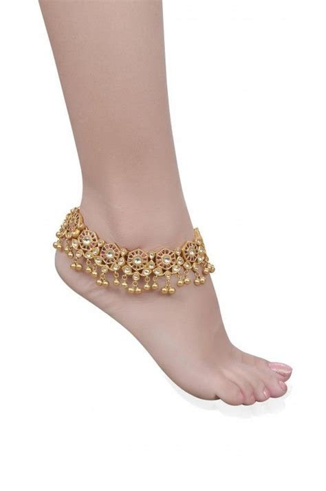 The 25  best Payal designs silver ideas on Pinterest