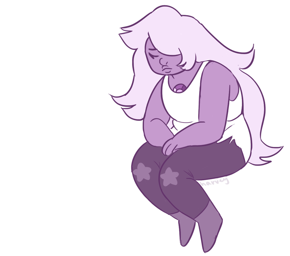 things i dont need in my life: sad amethyst