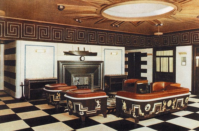 Image result for art deco cruise liner images