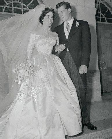 Mr. and Mrs. Conrad Nicholson Hilton, Jr.