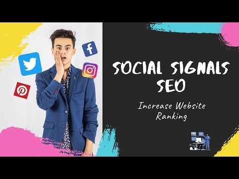 Social Signals SEO (Hindi/Urdu) - Increase Website Ranking