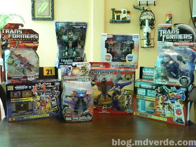 Mi colección de Transformers (05-Abr-2012) - Adquisiciones sin abrir