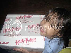 Gabie and the HP box