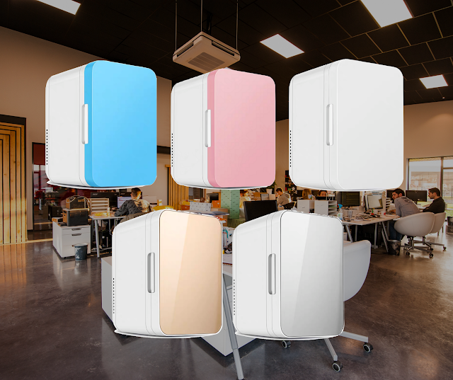 【網店特價發售】迷你雪櫃 8L 容量 可冰凍 8 罐汽水、可車用家用