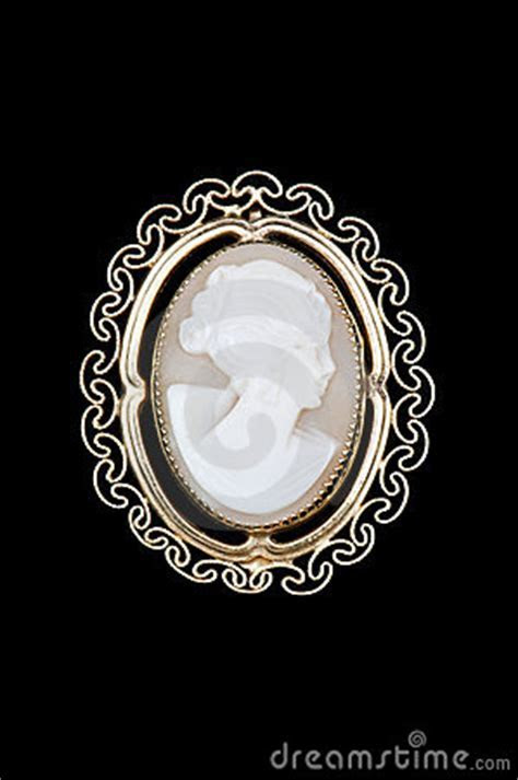 Vintage Cameo Brooch Royalty Free Stock Images   Image