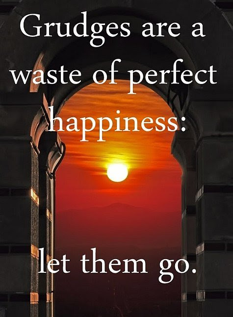 Grudges Are A Waste Of Perfect Happiness Quote Picture