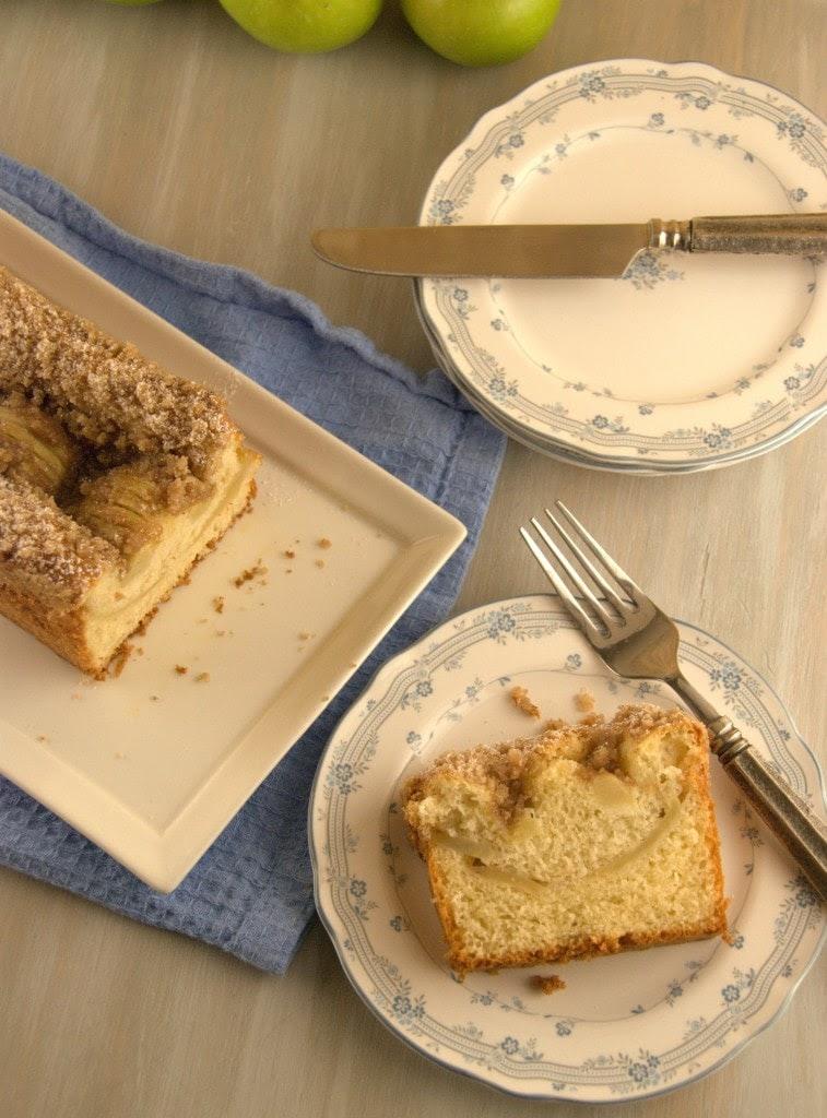 Apple Kuchen 5 757x1024 Apfelkuchen ( Bavarian Apple Cake) for #TwelveLoaves