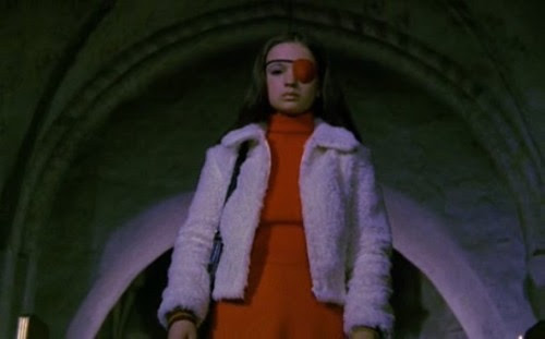 trixietreats:  mudwerks:  mrdantefontana:  Christina Lindberg in 'Thriller - En Grym Film' (aka 'Thriller - A Cruel Picture' aka 'They Call Her One Eye' aka 'Hooker's Revenge') Via thoudostwish.