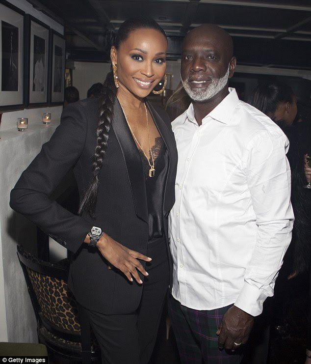 Tumultuous relationship: The model and the businessman met eight years ago and wed five years ago on RHOA. They're pictured in New York City on February 19