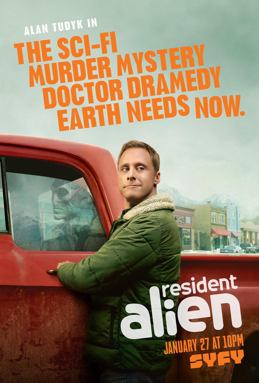 Resident Alien - Serie 2021 - SensaCine.com