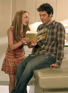 Britney Spears with Josh Radnor on tonight's episode of How I Met Your Mother