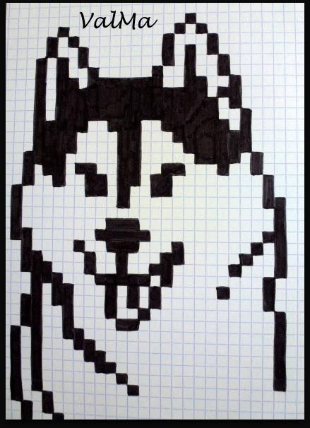 Comment Dessiner Un Chien En Pixel Art