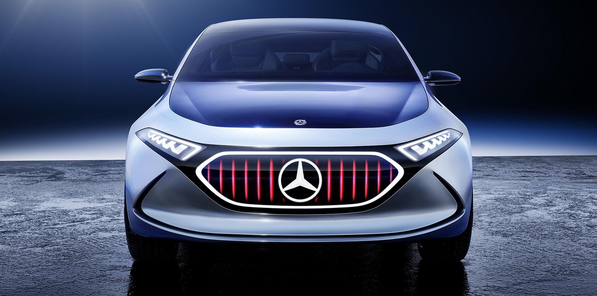 Mercedes-Benz EQA concept revealed, 'would make sense' for ...