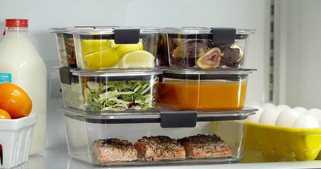 Rubbermaid Brilliance 18-Piece Food Storage Set $19.98 (Reg.$29.99) - Wheel N Deal Mama