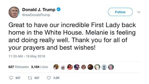 'Melanie': Trump Misspelled His Wife's Name in New Tweet