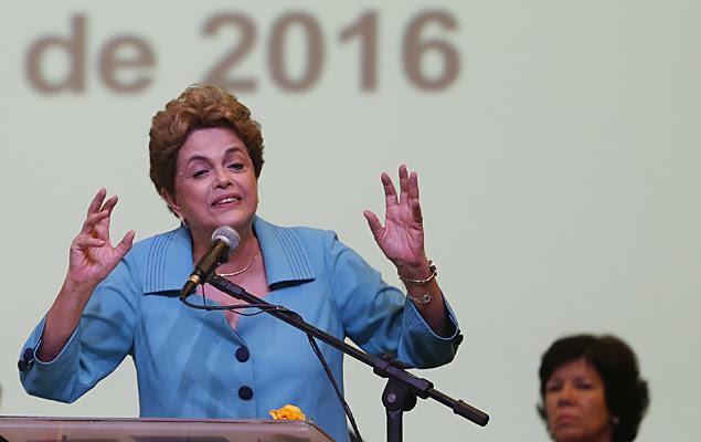 A presidente Dilma Rousseff participa da cerimônia de abertura da Conferência Nacional de Direitos Humanos no Centro Internacional de Convenções do Brasil, em Brasília