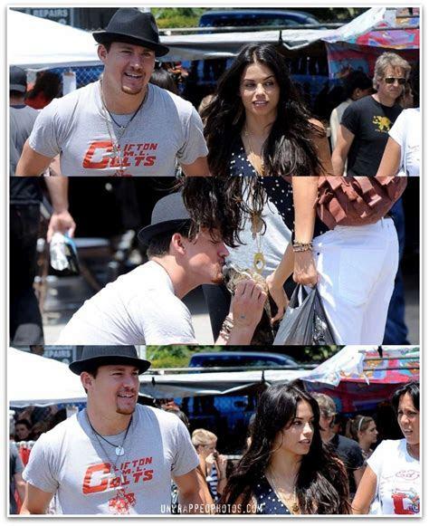 Channing Tatum and Jenna Dewan Tatum Back Home in LA
