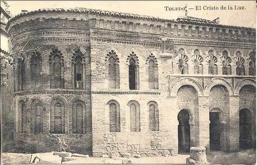 Mezquita del Cristo de la Luz a inicios del siglo XX