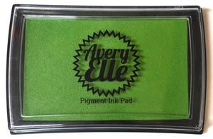 Avery Elle CELERY Pigment Ink Pad 020818