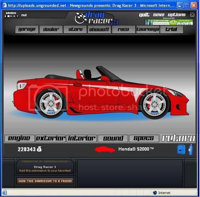 Drag racer v2 free flash games crazy games