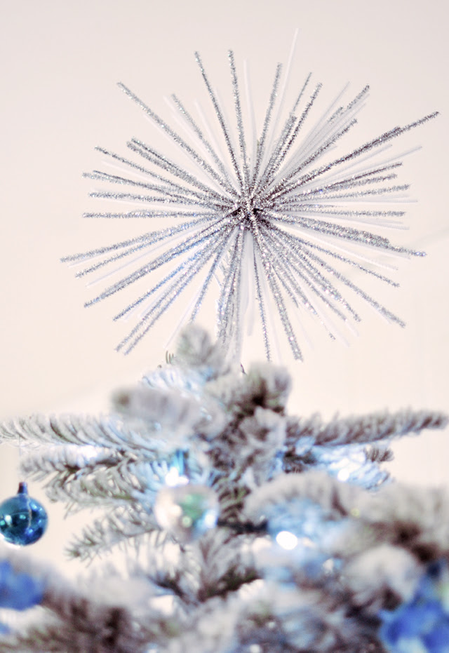 starburst diy - decor - tree topper
