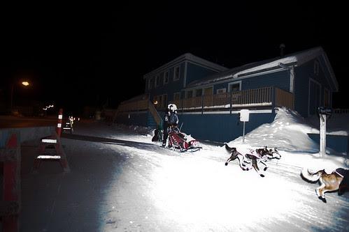 Dawson City Checkpoint