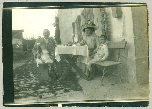 Four at a table
