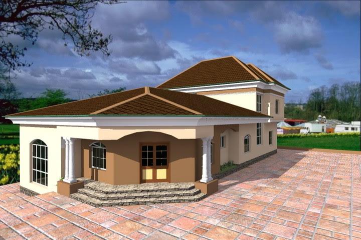 Building from the Diaspora: 3 Bedroom Bungalow + Penthouse ...