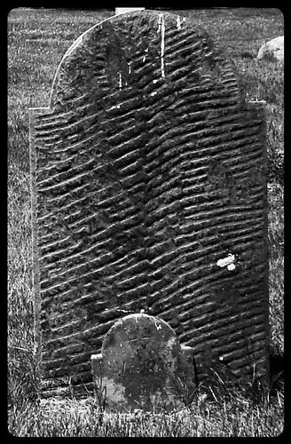 Gloomy Gravestone by midgefrazel