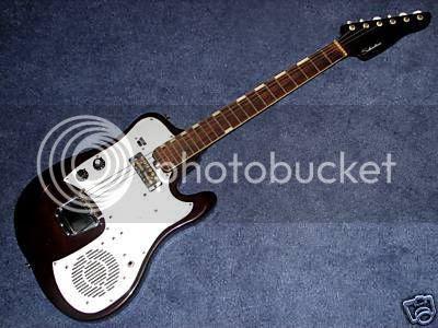 Silvertone amp guitar