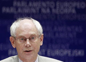 O chefe do Conselho Europeu, Herman Van Rompuy (Foto: Reuters