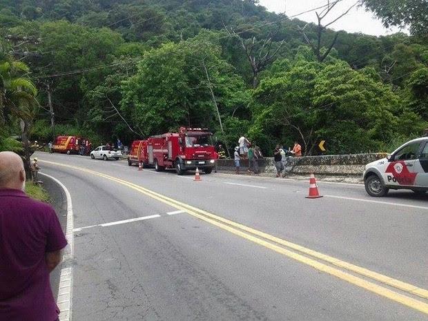 Motorista não resistiu aos ferimentos e morreu no local (Foto: Radar Litoral)