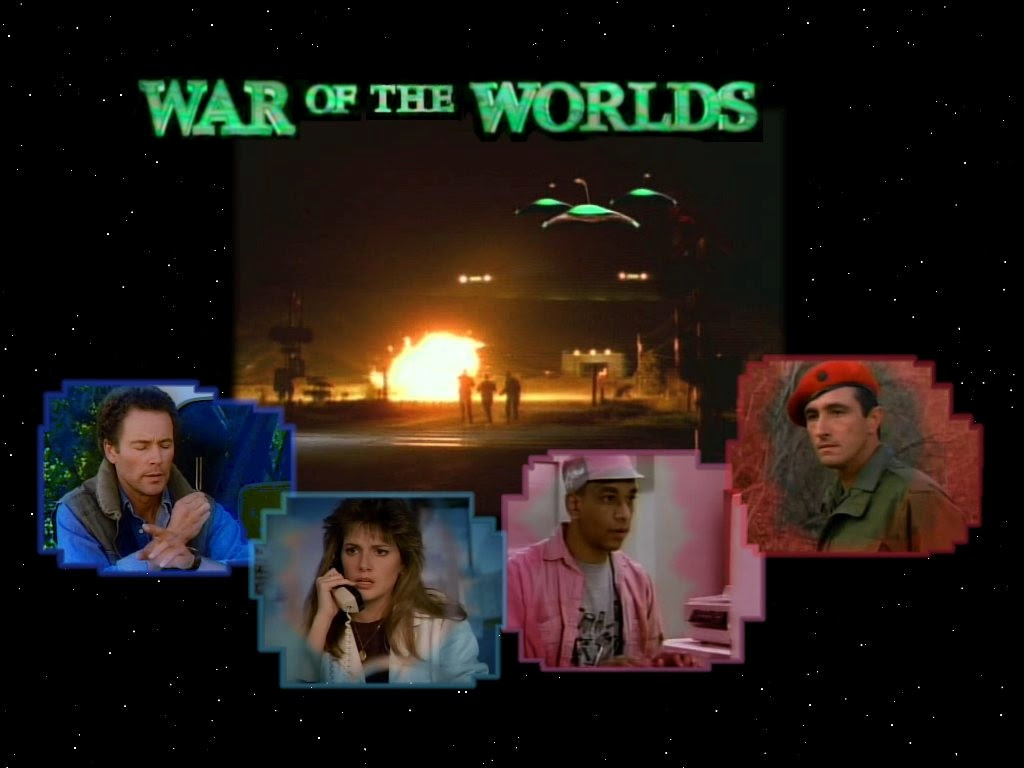Four Against An Invasion War Of The Worlds 1988 Tv Show