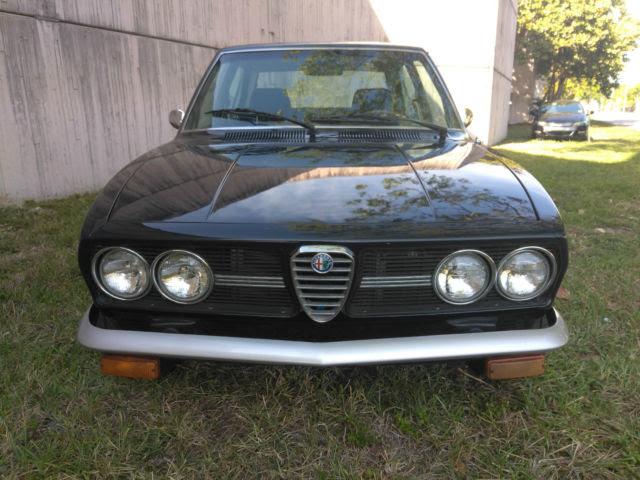 1976 Alfa Romeo Alfetta Sport Sedan 4-Door 2.0L for sale