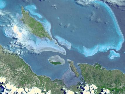 Lagoons of New Caledonia