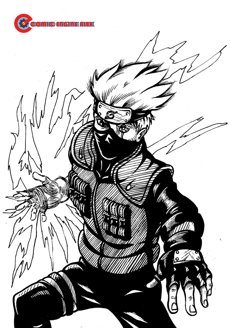 Inktober day 15 Kakashi by Comic-Engine-Alex on DeviantArt