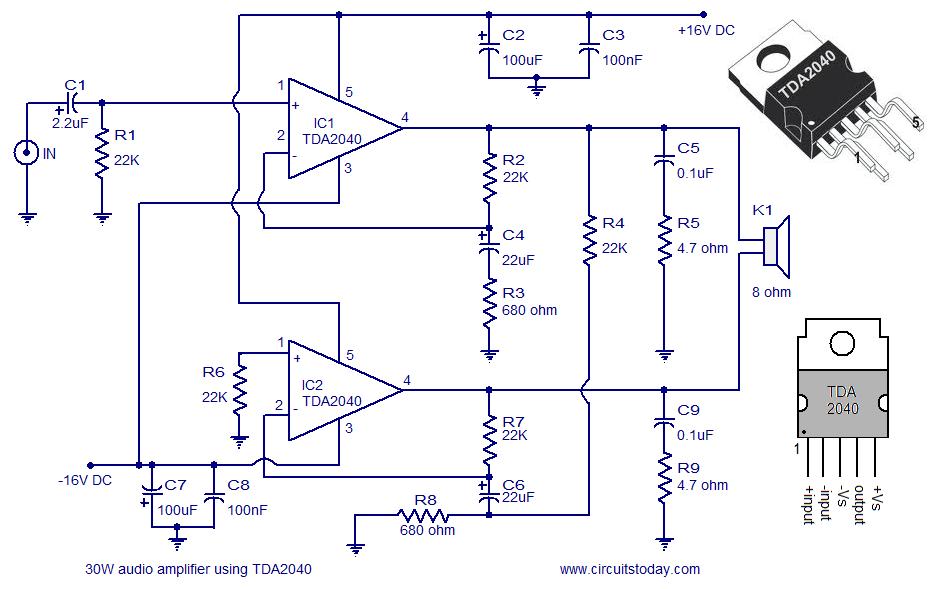 Circuit Diagram Of Audio Amplifier Of 12v Pdf ~ DIAGRAM