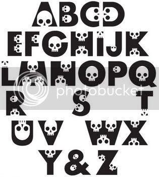 Alphabet Skull