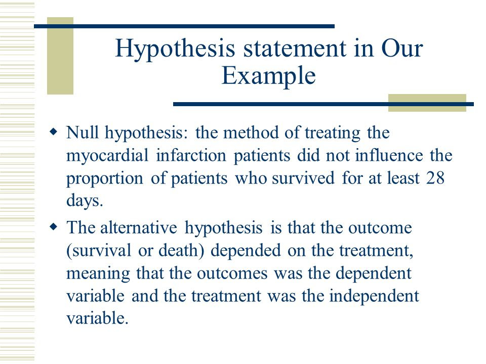How To Write A Hypothesis Statement For A Research Paper