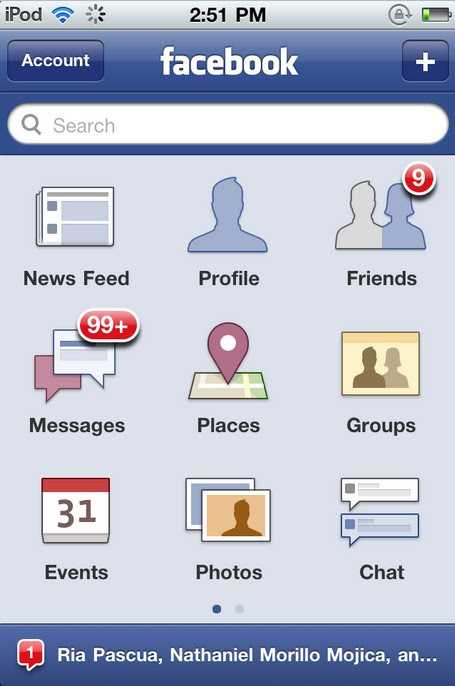 download facebook for iphone
