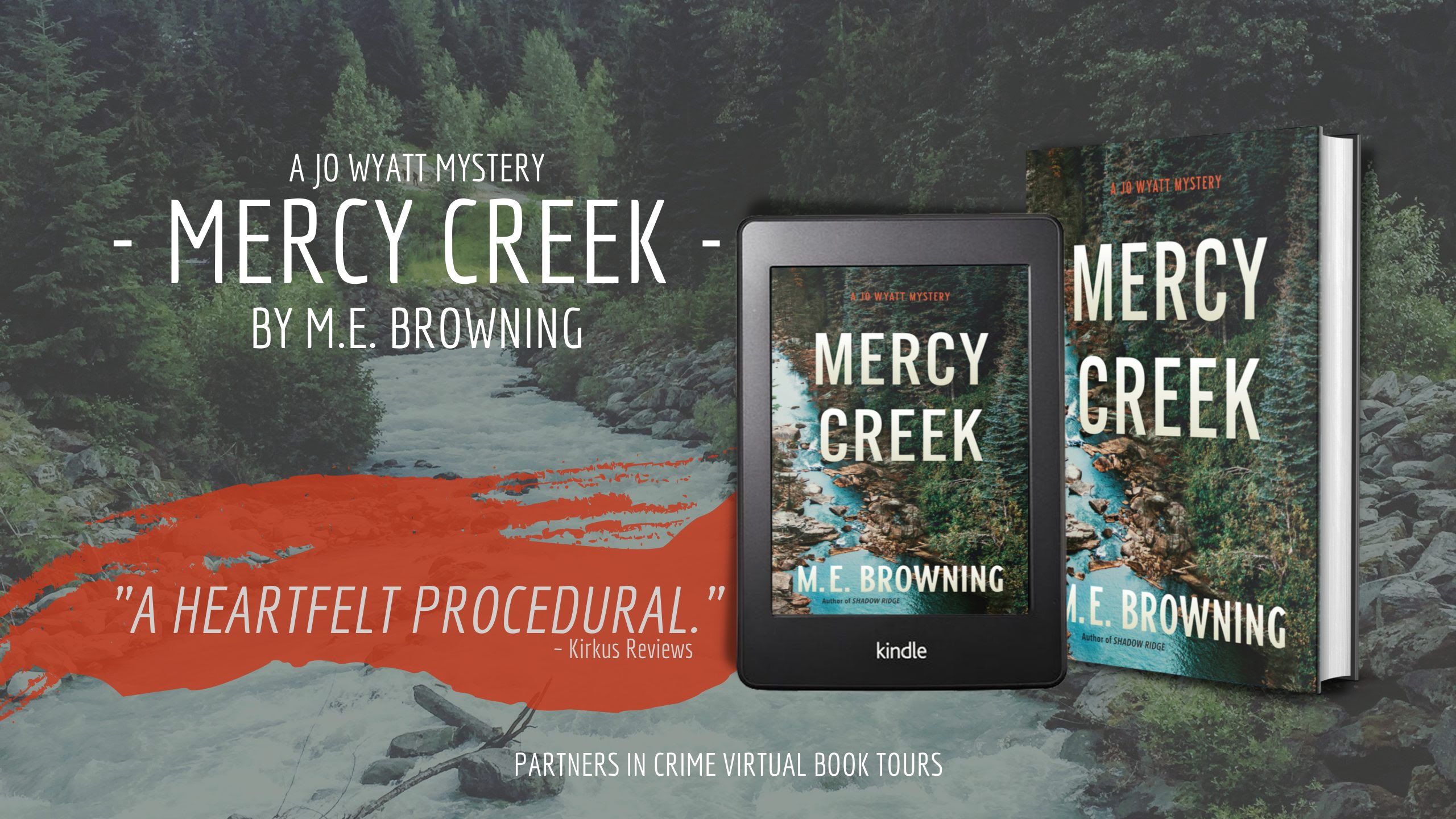 Mercy Creek by M.E. Browning Banner