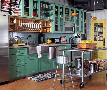 Designed To The Nines   Trend Watch: Fresh Colors for Painted Cabinets