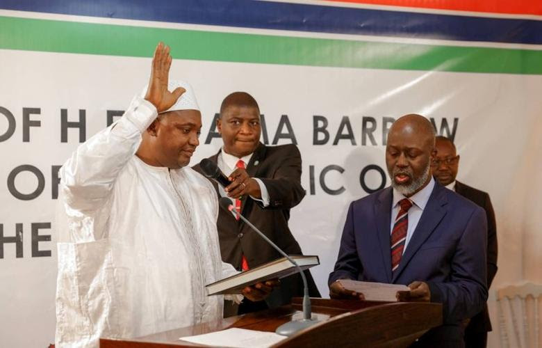 Image result for Gambia's Jammeh agrees to go into exile as regional troops mass