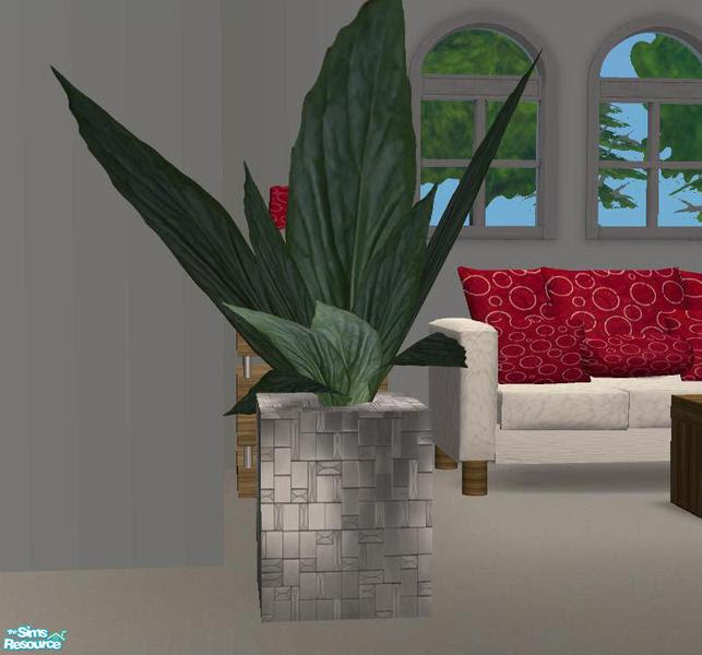 DiamondSim's TC79 Jordans Living Room Set Plant