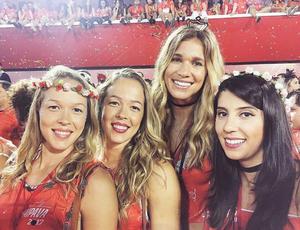 Michelle, Monique, Alix, Jú Carrijo, vôlei, Praia Clube, Rio de Janeiro, Sapucaí (Foto: Reprodução/Instagram)