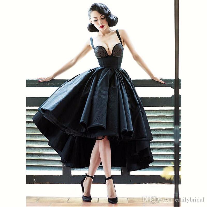 sexy little black dress off shoulder cocktail