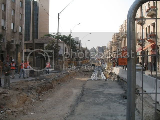 Jerusalem Under Construction