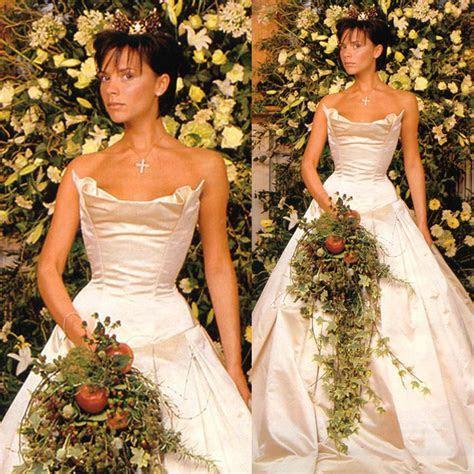 Victoria beckham wedding dress   Luxury Brides