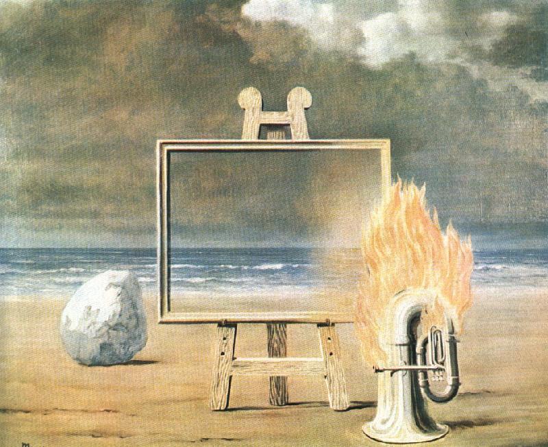 The fair captive, 1947 Rene Magritte
