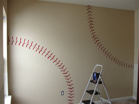 diy house inspiration  vintage baseball